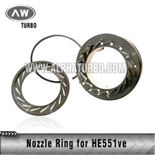 hot sale factory hol-set HE551VE turbocharger nozzle ring for sale