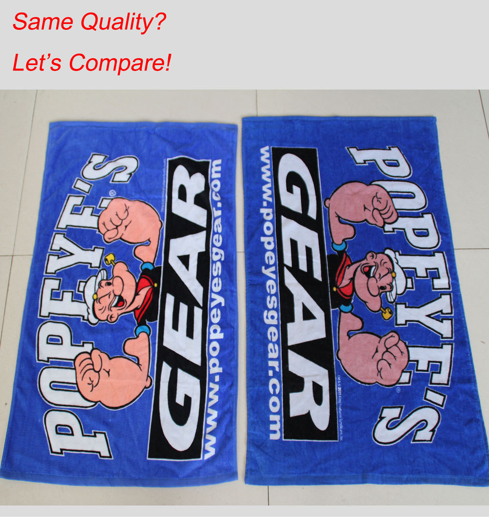 Cotton Rally Towel , Printed Rally Towel , Custom Rally Towel ,