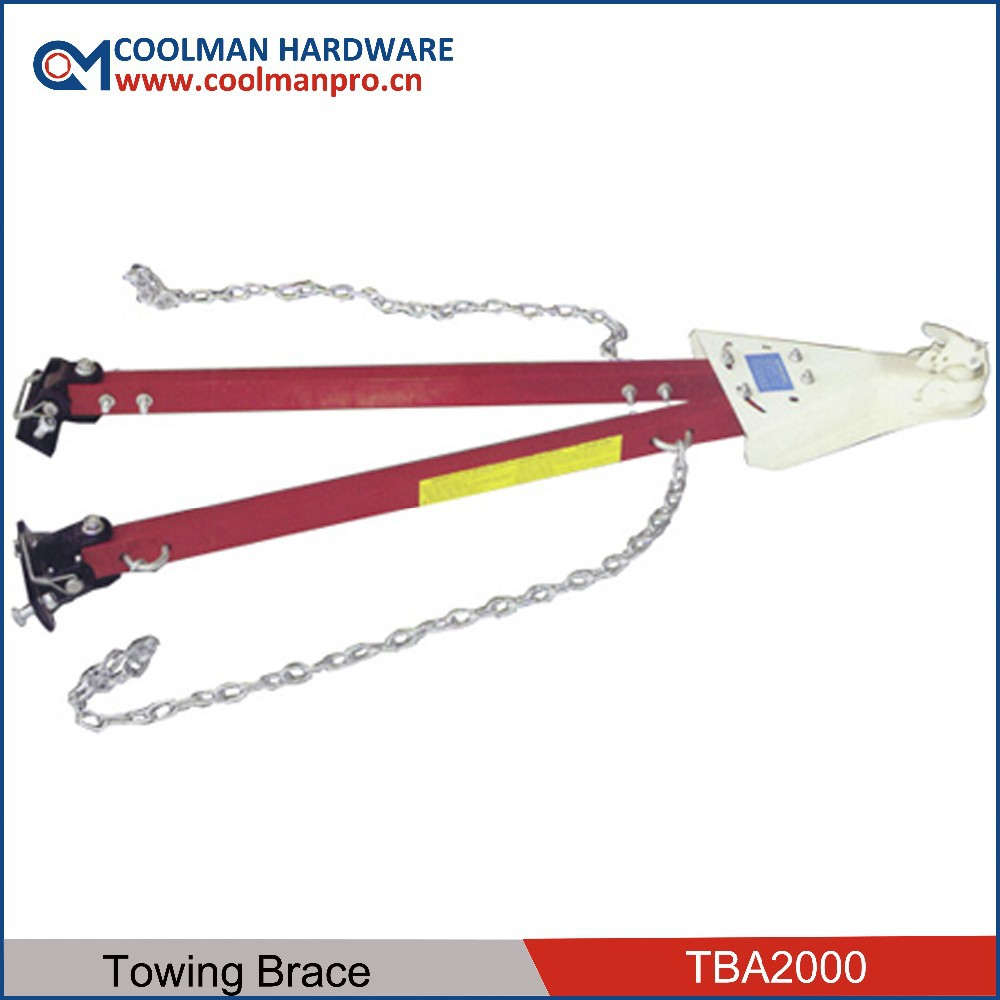 5000lbs Adjustable Tow Bar W/2 Chains