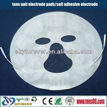 facial tens pads for physical therapy equipments