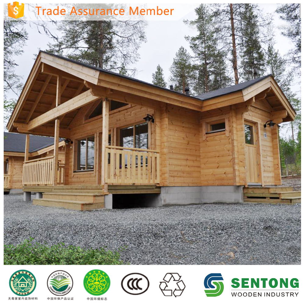 garden house wood prefabricated wood house for sale