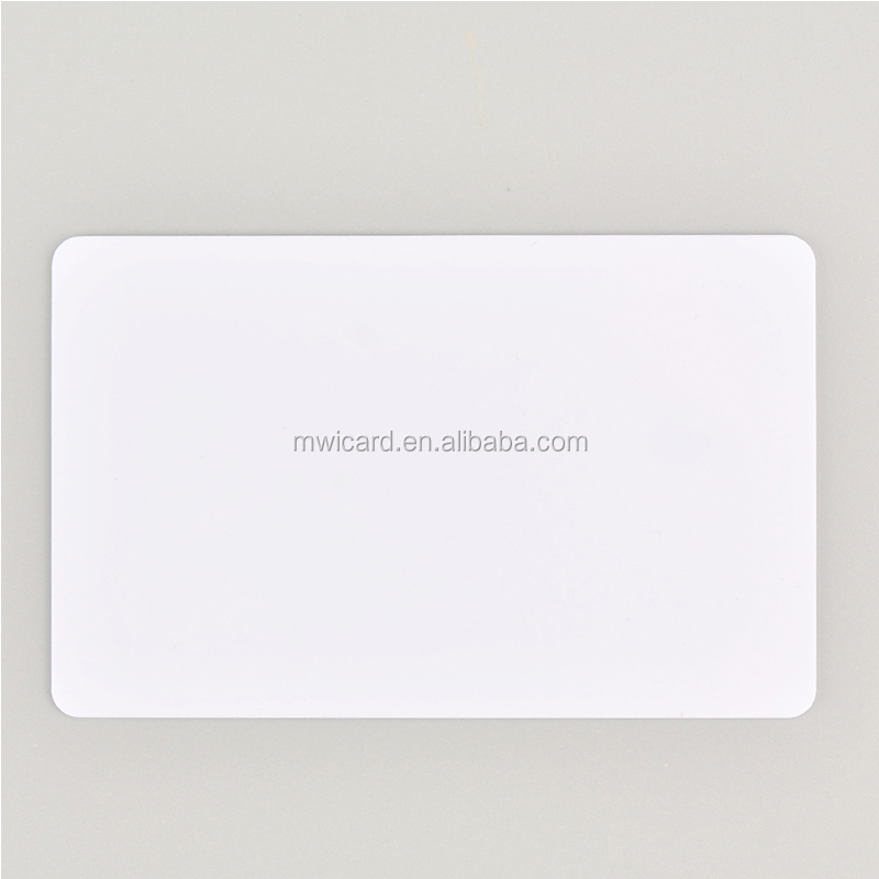 Smart Card 4442 Chip Card Blank PVC Card With Track 2/3 Magnetic Stripe