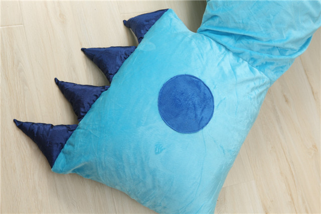 Stitch Comfortable Cartoon Bed Sleeping Bag / Tatami Thicker Mattresses Cartoon Bed