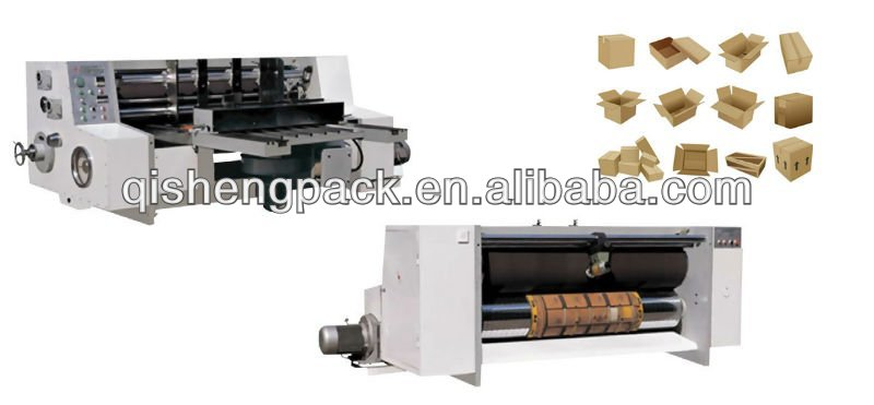 Automatic corrugated carton Rotaty Die Cutting Machine
