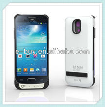 New arrival 2600mAh external backup power bank case for samsung galaxy s4 mini i9190