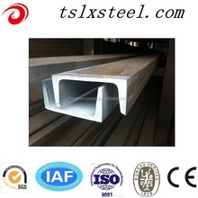 Price of 1KG Iron Steel C Channel Steel Price Galvanized Steel Channel Dimensions