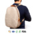Lightweight backpack Customize Recyclable Leisure Style Washable Kraft Paper Backpacks