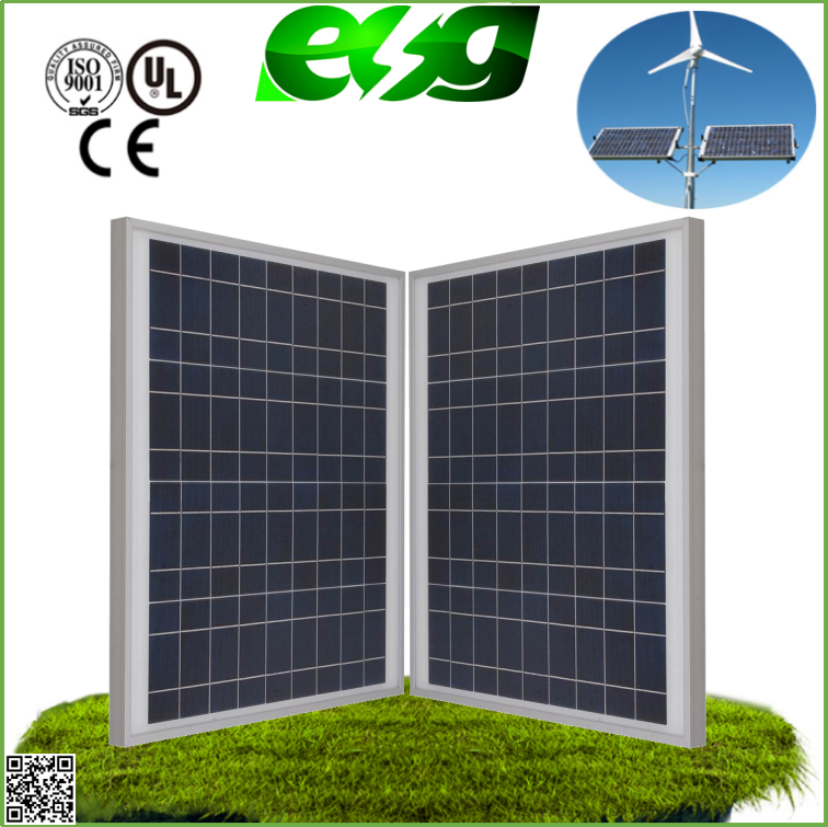 High Efficiency 30W--200W Grade A soalr panel / factory low price POLYcrystalline solar panel