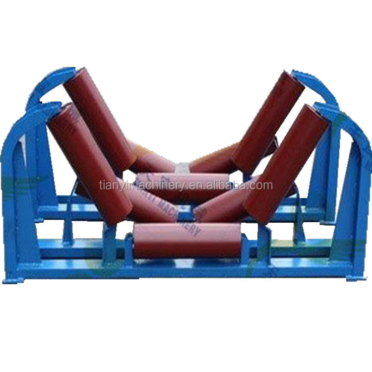 China made standard durable cheap price flat belt conveyor carrier idler <strong>roller</strong> for sale