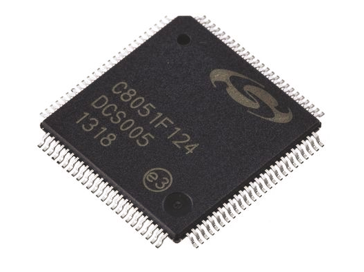 IC 8051 MCU 128K FLASH 100TQFP C8051F124-GQ