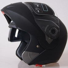 Hot Sale Helmet Good Material with PC Double Visor Anti-fog Motorcycle Flip up Helmet