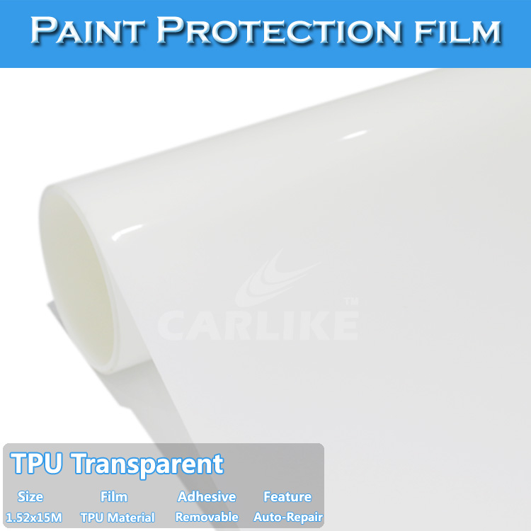 1.52x15m 5x49ft Car Coating Surface Paint Protective Film