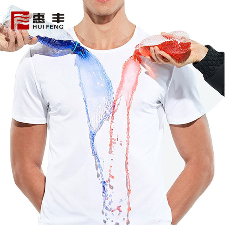 Cheap Bulk Wholesale Round Neck Waterproof Polyester T Shirt Mens