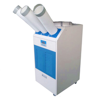 Outdoor Industrial portable air cooler with connecting pipes