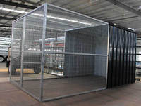 large metal cage for dog