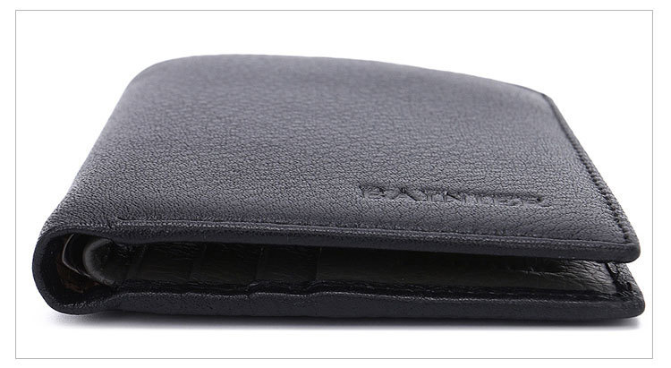 Wholesale Full Grain Leather Men Wallet