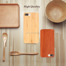 Real Wood Case for iphone 7 6 6S Plus 5 5S SE, Cover Natural Bamboo Wooden Hard Phone Cases For Samsung Galaxy S8 S6 edge Plus