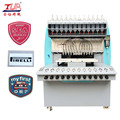 Full automatic dispensing machine for making pvc logo
