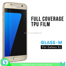New Premium Full Cover TPU Screen Protective Membrane With Wholesale Price for Samsung Galaxy S7