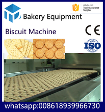 full automatic industrial biscuit food machine / biscuit production line / small biscuit making machine