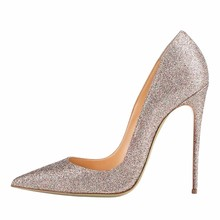 Shoes Women lady 12cm Stiletto Pointe Toe Wedding Dress For Bride Ladies High Heels Shoes