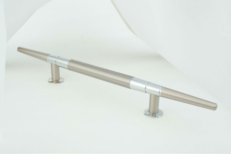 DOOR HANDLE - CHROME NICKEL MAT