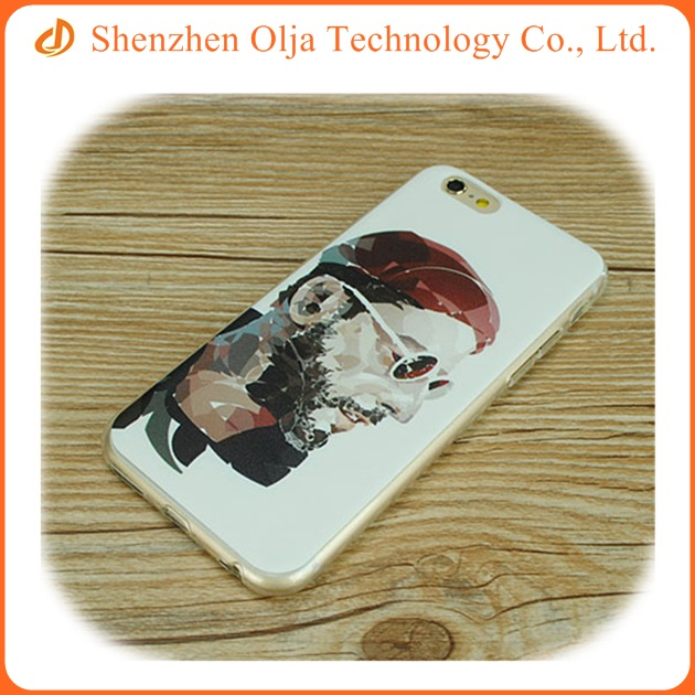 China phone case manufacturer The Leon custom printed tpu phone case for iPhone 6 plus