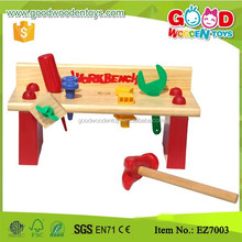 Eco-friendly Kids Workshop Hand Tools Set Fix It Children Tool Toys in wood