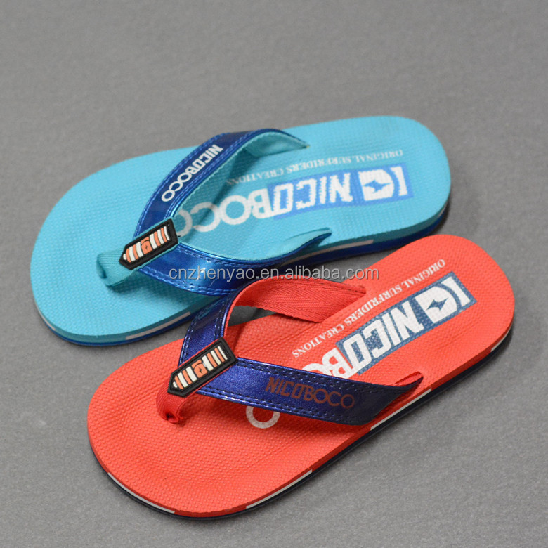 Summer beach slipper outdoor flat flip flops for kids