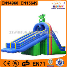 Double sided kahuna jumping castles giant inflatable water slide