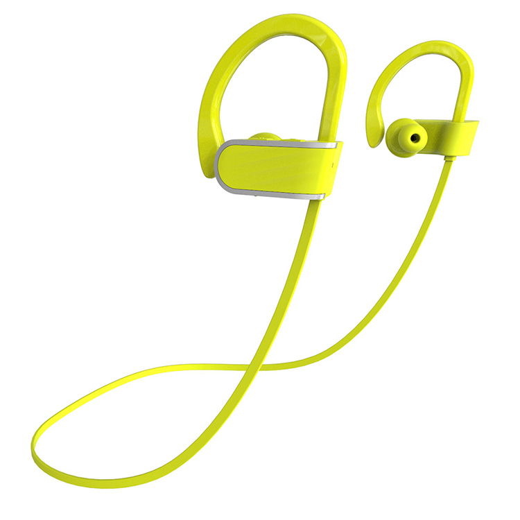 Waterproof Headset stereo sport bluetooth headset foldable noise cancelling OEM brand wireless