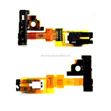 Camera Flashlight Flex & Light Proximity Sensor Flex Headphone Audio Jack Flex Cable For Sony Xperia ZR M36H M36i C5502 C5503