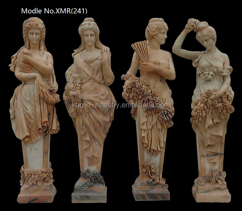 Marble Statue/High Quality Marble Goddess Of The Four Seasons