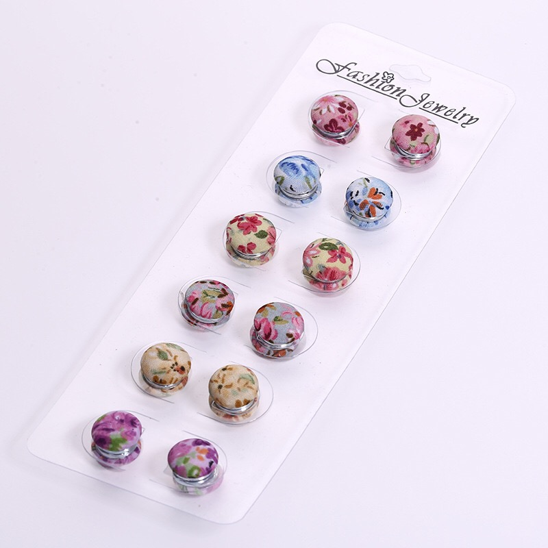 Fabric magnetic brooches pins clothing brooches