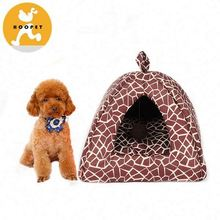 Fissures pattern purple pet bed and cat house supplier