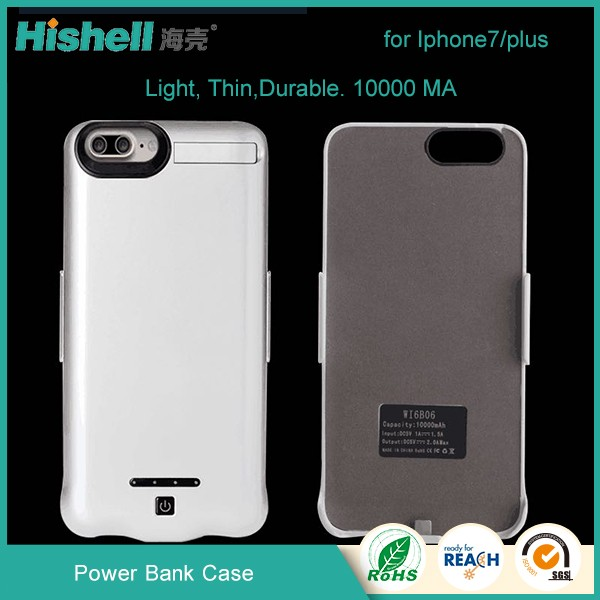 mobile phone accessories, Power Bank case for iPhone 7