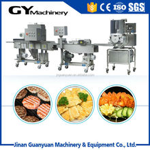 Middle capacity meat/beef/chicken burger processing equipment