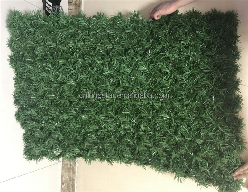 Metal Galvanized Wire+PVC Artificial Grass Fense Roll