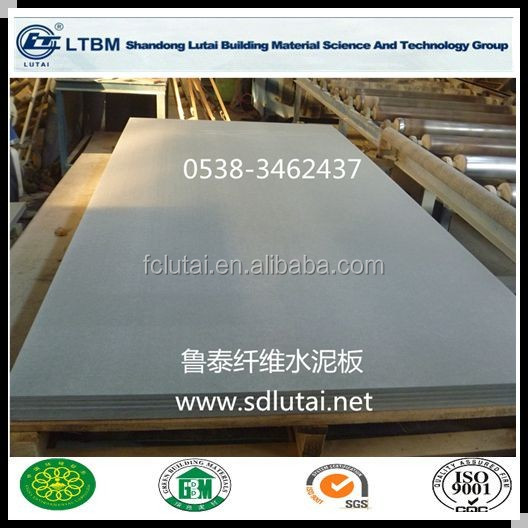 Cellulose Fiber Cement Autoclaved Board For Light Steel Prefab Housing/modular House - Buy ...