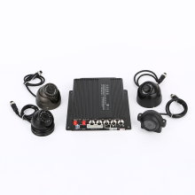 Mobile digital video recorder 4 channel dual sd card mobile mdvr