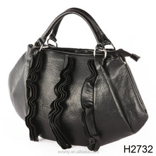 H2732 Hot new products for 2014, woman leather handbag China wholesale