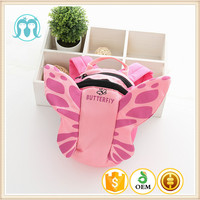 baby butterfly shape backpacks animal shape pattern bags with hats for kindergarten kids