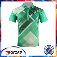 China custom sublimated dry fit mens plain polo golf shirts manufacturer