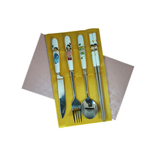 Best sale ceramic cutlery set for family