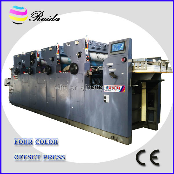 4 colour offset printing machine price with NP