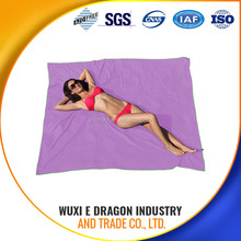 pictur woman nake beach towel custom design 80% polyester and 20% polyamide or 100% polyester