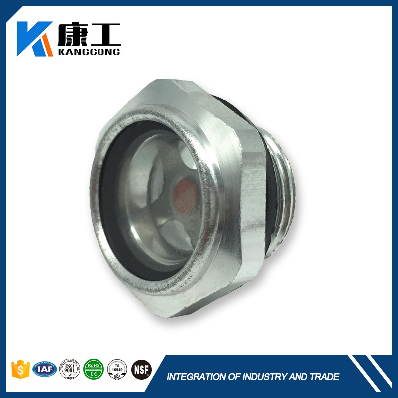 Male Thread Oil Tank Fuel Oil Level Sight Glass