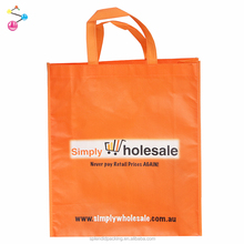 Promotional Cheap Custom Glossy Laminated Souvenir Non Woven Bags With Logo
