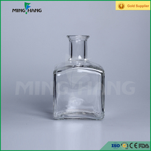 200ml long neck square reed diffuser glass bottles with rubber stopper