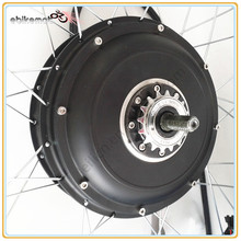Cheapest china 5000 watt hub motor/electric bicycle hub motor/brushless hub motor 5000w for bicycle